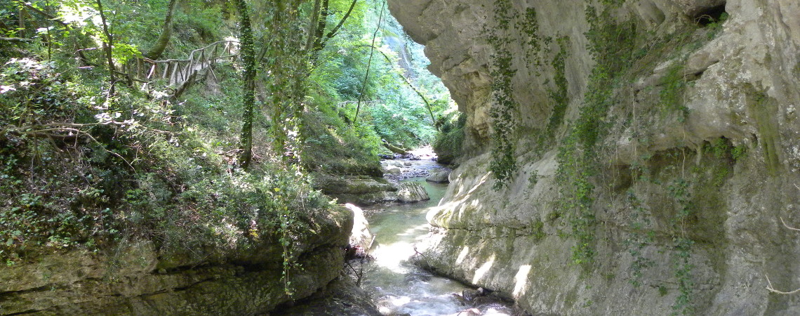 Valle Orfento – en utrolig smuk naturoplevelse